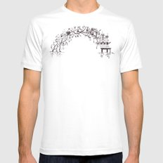 arch Mens Fitted Tee MEDIUM White