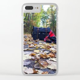 Fall Camera Still Life Clear iPhone Case