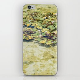 Monet Style Lily Pads iPhone Skin