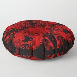 Bloody Mandala Floor Pillow