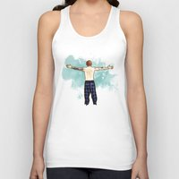 cyrilliart Tank Tops featuring Tenerife Sea by Cyrilliart