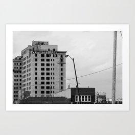 Zombieland Detroit Art Print