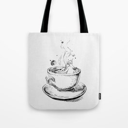 Heaven cup. Tote Bag