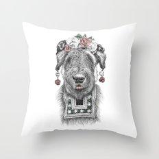 Suusi Kahlo II Throw Pillow
