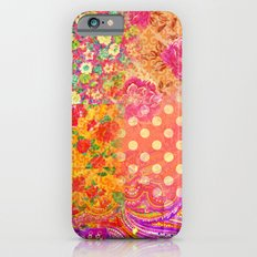 Retro patterns iPhone 6s Slim Case