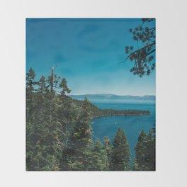 Lake Tahoe III Throw Blanket