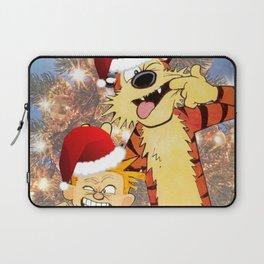 Calvin Hobbes Christmas Laptop Sleeve