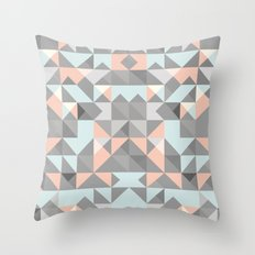 Triangular Pattern Throw Pillow