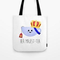 Her Majest-tea Tote Bag