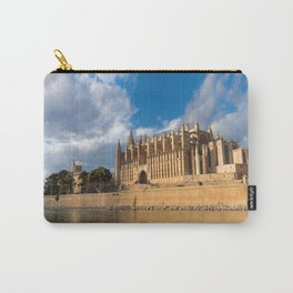 Cathedral of Palma de Mallorca Golden hour Timelapse Carry-All Pouch