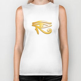 Eye of Horus Biker Tank