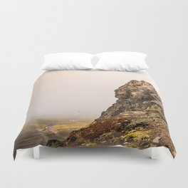 Behind The Clouds Duvet Cover