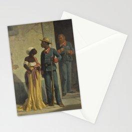 Víctor Patricio de Landaluze - Conversation on the Street Stationery Cards