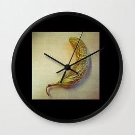 Corny Banana Wall Clock