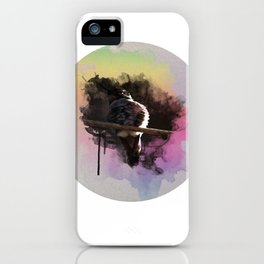 Hummingbird Watercolor iPhone Case