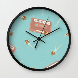 Summertime Sadness Wall Clock