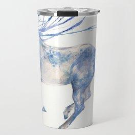running horse watercolour art Travel Mug