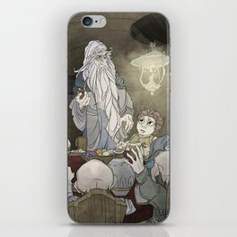 They've come for tea, & for supper, & for you iPhone Skin