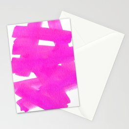 Superwatercolor Pink Stationery Cards