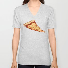 Pizza Time Unisex V-Neck