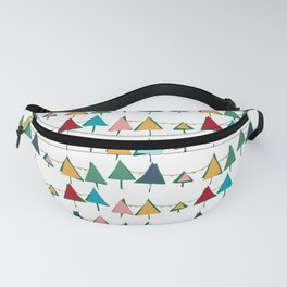 Cute Christmas tree colorful Fanny Pack