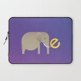E for Elephant Laptop Sleeve
