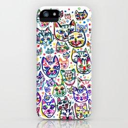 Kitty Kaos iPhone Case