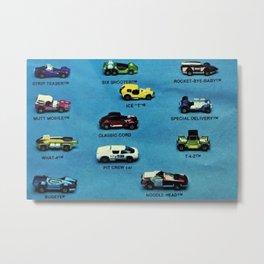 1971 International Hot Wheels Catalog Poster No 1 Metal Print