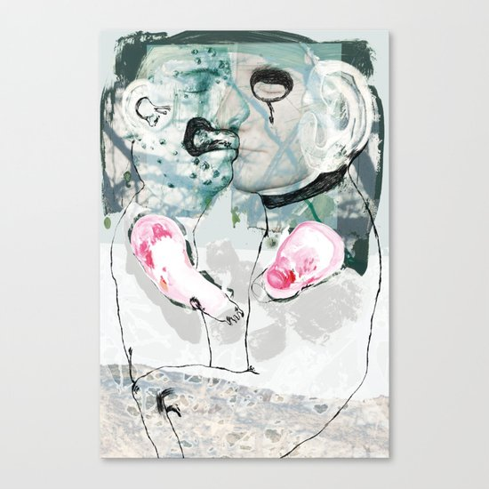 vitriol 6 Canvas Print