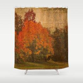 Shorter Days Shower Curtain