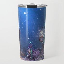 Christmas Town (Color) Travel Mug