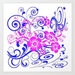 Patternbp1 Art Print