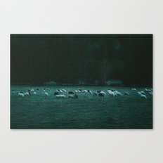 The Silence of the Lambs Canvas Print