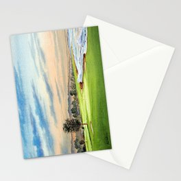 Pebble Beach Golf Course 18th Hole Stationery Cards