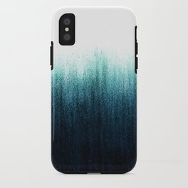 Teal Ombré iPhone Case