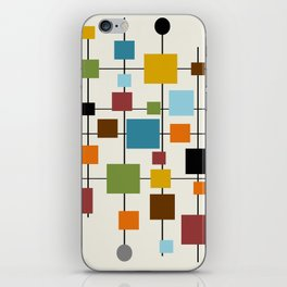 Mid-Century Modern Art 1.3 iPhone Skin