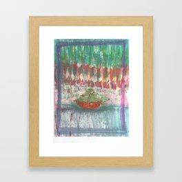 NEW BOAT Framed Art Print