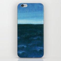 Night sea iPhone Skin