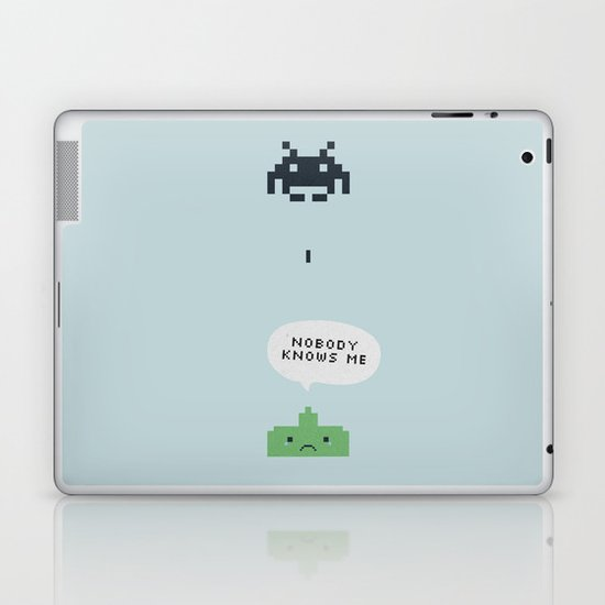 nobody knows Laptop & iPad Skin
