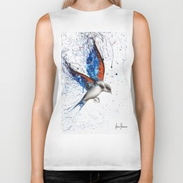 Sunset Sorrento Wings Biker Tank