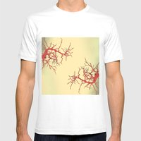 branches#03 Mens Fitted Tee White MEDIUM