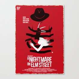 A Nightmare - Red Collection Canvas Print