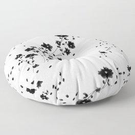Large Daisy Design Floor Pillow