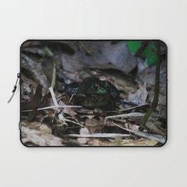 shiny frog Laptop Sleeve