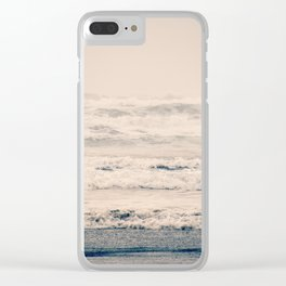 A Gray Day Clear iPhone Case