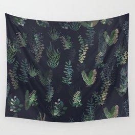 green garden at nigth mirror!!! Wall Tapestry