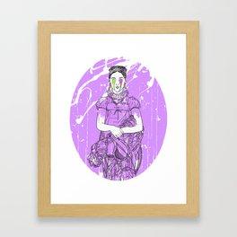 Ingres Variation #3 Framed Art Print