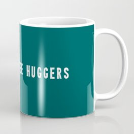 Raising tree huggers - green Coffee Mug