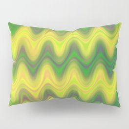 Agate Wave Green - Mineral Series 002 Pillow Sham