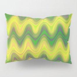 Agate Wave Green - Mineral Series 002 Pillow Sham